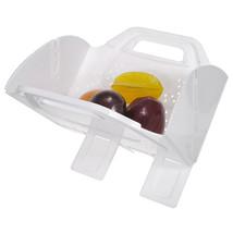 Portable Convenient Folding Washing Basket Flat Fold Colander - $17.57