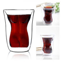 Crystal Woman Body Vodka Shot Wine Glass Drinking Cup - $11.15