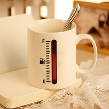 Magic Color Change Cup Thermometer Coffee Mug Tank Up Mugs - $15.11