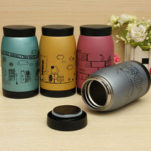 250ml Cartoon Stainless Vacuum Flasks Thermoses Milk Mug Water Cup - $10.32
