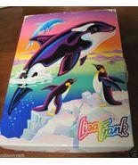 Vintage Lisa Frank Orca Dolphin Collectors Box w Stencils Erasers Paperc... - $79.99