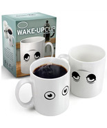 Ceramic Wake-up Cup Eye Open/Close Color Changing Mug Sensitive Cup - ₹1,067.81 INR