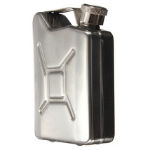 5 oz Stainless Steel Hip Flask Fuel Petrol Kettle - $10.05