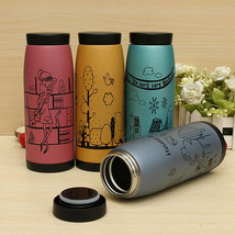 500ml Thermal Vacuum Cartoon Insulated Mug Thermoses Milk Water Cup - $12.86