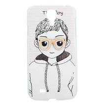 Boy Pattern Plastic Back Case For Samsung Galaxy S4 i9500 - $6.66