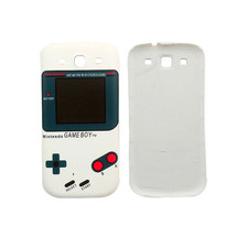 White Console Anaglyph Phone Back Cover For Samsung Galaxy S3 i9300 - $7.61