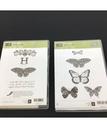 Stampin Up! 123660 Strength & Hope, 133345 Best of Butterflies Stamps Ne... - $15.88