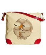Vietsbay's One-Eyed Owl Print Casual Canvas Tote Shoulder Bags Handbags - $28.49