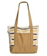 Vietsbay's Woman Stripes Print Vintage Color Canvas Casual Handbags - $23.37 CAD