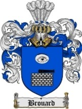 Brouard Family Crest / Coat of Arms JPG or PDF Image Download - $6.99
