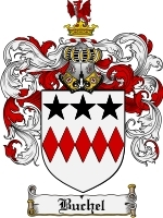 Primary image for Buchel Family Crest / Coat of Arms JPG or PDF Image Download