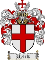 Primary image for Byerly Family Crest / Coat of Arms JPG or PDF Image Download