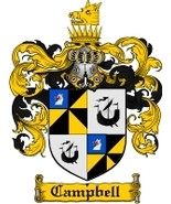 Campbell Family Crest / Coat of Arms JPG or PDF Image Download - $6.99