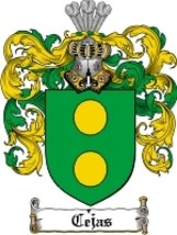 Cejas Family Crest / Coat of Arms JPG or PDF Image Download - $6.99