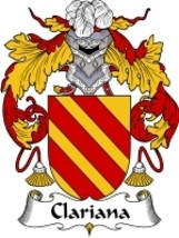 Clariana Family Crest / Coat of Arms JPG or PDF Image Download - $6.99