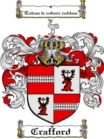Primary image for Crafford Family Crest / Coat of Arms JPG or PDF Image Download