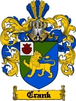Primary image for Crank Family Crest / Coat of Arms JPG or PDF Image Download