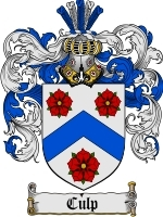 Culp Family Crest / Coat of Arms JPG or PDF Image Download
