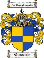 Primary image for Cussach Family Crest / Coat of Arms JPG or PDF Image Download