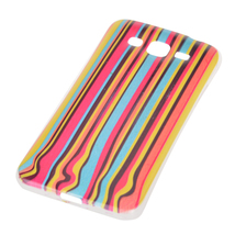 Colored Drawing Vertical Stripes Pattern Case Cover for Samsung G7106 - $7.55