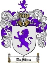Dasilva Family Crest / Coat of Arms JPG or PDF Image Download - $6.99