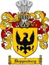 Doppenberg Family Crest / Coat of Arms JPG or PDF Image Download - $6.99