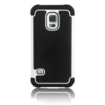 3 in 1 Football Grain Shock Proof Case for Samsung Galaxy S5 Mini - $8.25