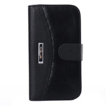 Retro Flip PU Wallet Leather Case For Samsung S4 i9500 - $9.70