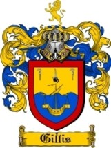 Gillis Family Crest / Coat of Arms JPG or PDF Image Download - $6.99