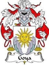 Goya Family Crest / Coat of Arms JPG or PDF Image Download - $6.99