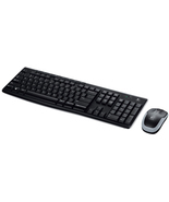 Wireless Combo Keyboard Mouse Desktop Laptop Computer Home Office Keyboard  - ₨3,310.04 INR