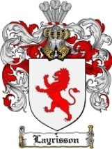 Layrisson Family Crest / Coat of Arms JPG or PDF Image Download - $6.99