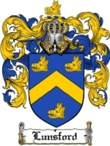 Lunsford Family Crest / Coat of Arms JPG or PDF Image Download - $6.99
