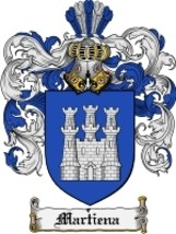 Martiena Family Crest / Coat of Arms JPG or PDF Image Download - $6.99