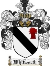 Whitworth Family Crest / Coat of Arms JPG or PDF Image Download - $6.99