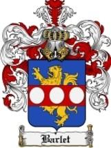 Barlet Family Crest / Coat of Arms JPG or PDF Image Download - $6.99