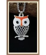 Great Owl Of Knowledge Talisman Black Voodoo elite senses & knowledge magick - $32.00