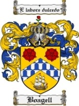 Boagell Family Crest / Coat of Arms JPG or PDF Image Download - $6.99