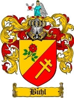 Primary image for Buhl Family Crest / Coat of Arms JPG or PDF Image Download
