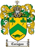 Primary image for Caragan Family Crest / Coat of Arms JPG or PDF Image Download