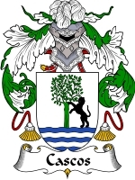 Primary image for Cascos Family Crest / Coat of Arms JPG or PDF Image Download