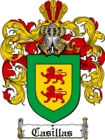 Primary image for Casillas Family Crest / Coat of Arms JPG or PDF Image Download