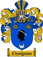 Primary image for Changuion Family Crest / Coat of Arms JPG or PDF Image Download