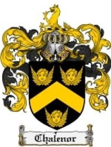 Chalenor Family Crest / Coat of Arms JPG or PDF Image Download - $6.99