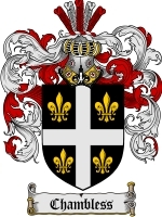 Primary image for Chambless Family Crest / Coat of Arms JPG or PDF Image Download