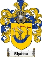 Primary image for Chattan Family Crest / Coat of Arms JPG or PDF Image Download