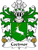Coetmor Family Crest / Coat of Arms JPG or PDF Image Download