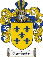 Primary image for Comaziz Family Crest / Coat of Arms JPG or PDF Image Download