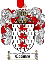 Coomes coat of arms download