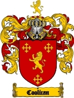 Primary image for Coolican Family Crest / Coat of Arms JPG or PDF Image Download